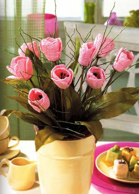 Отменить14 июн 2011 - Вязаные крючком цветы - просто и красиво. .