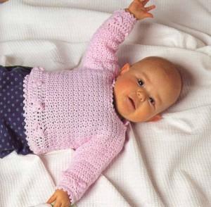вязание джемпер для детей