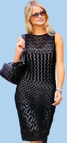 """Платье для девочки связано крючком 2,5. Пряжа """"Нежность """".  Схема вязания платья."""
