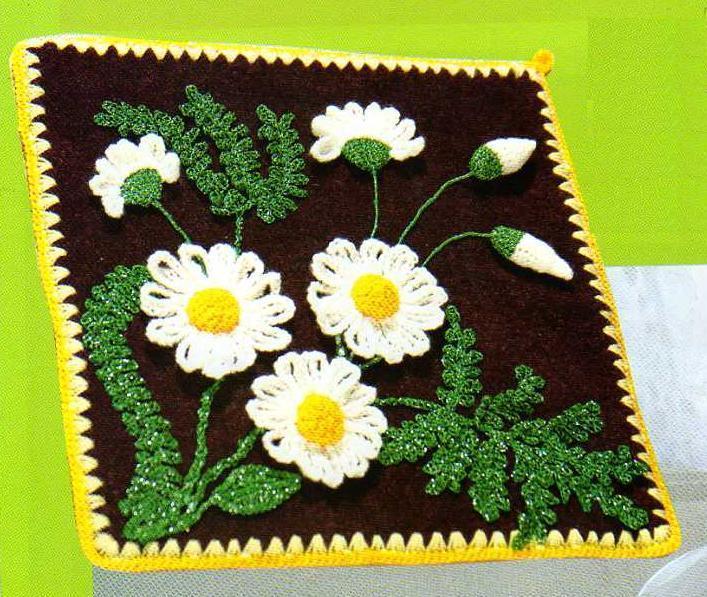 вязание цветов