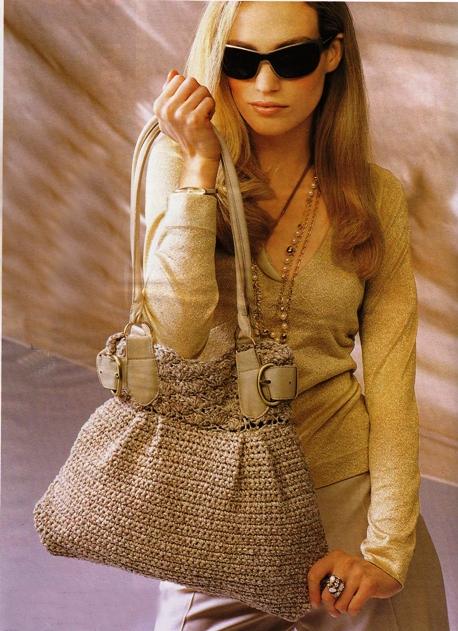 Вязание сумок Вязание спицами.
