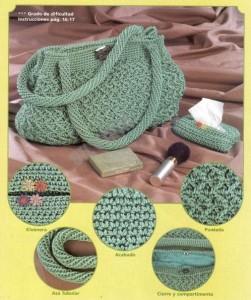 Описание: вязание сумок спицами Схемы и узоры по.