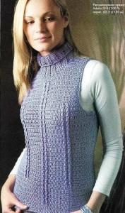 вязанные жилеты схемы - Лучшие концепции стиля и моды.