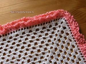вязание косынки