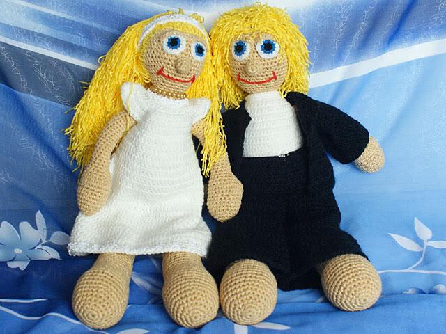 описание вязаных кукол.