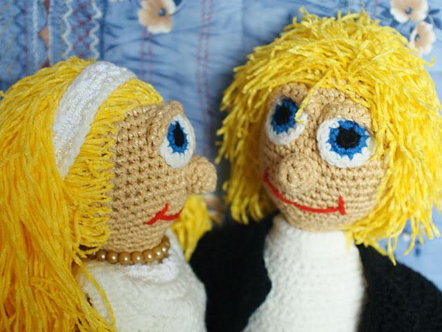 вязание кукол крючком