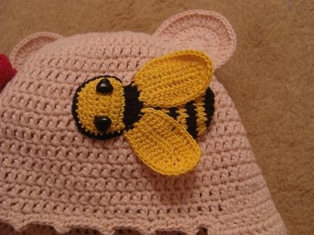 Вот такую замечательную пчелку