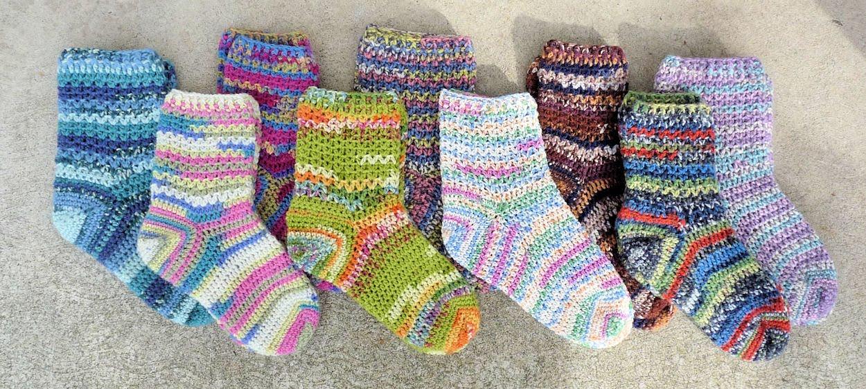 Фото вязание носков