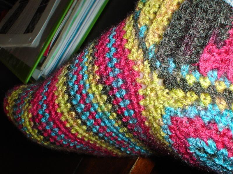 Вязание для начинающих: Носки крючком ... вязание, видео вязание крючком.