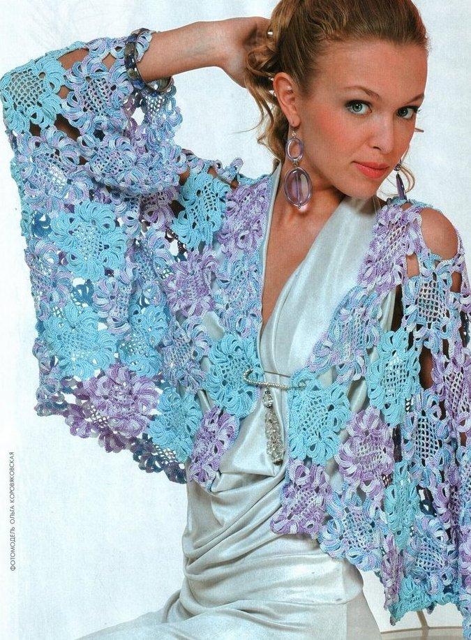Вязание крючком и спицами на заказ.  Вязаные эксклюзивные свадебные платья.  Схемы и описание вязанных изделий могут...