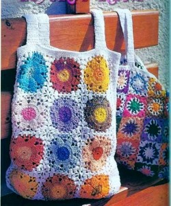 lace bag crochet pattern