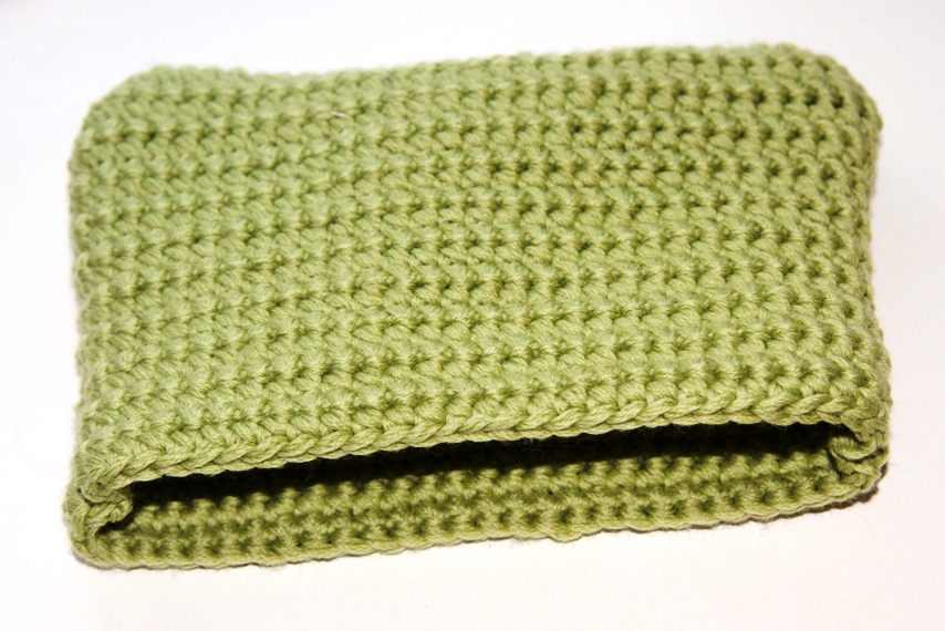 Вязание кошелька спицами 86