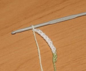 вязание крючком воздушные петли