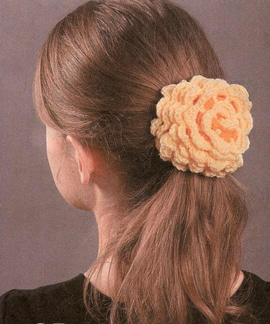 вязание резинки для волос