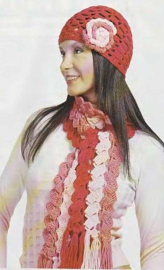 Шапки, шарфы.