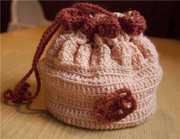 вязаные сумки для девочек - Сумки.