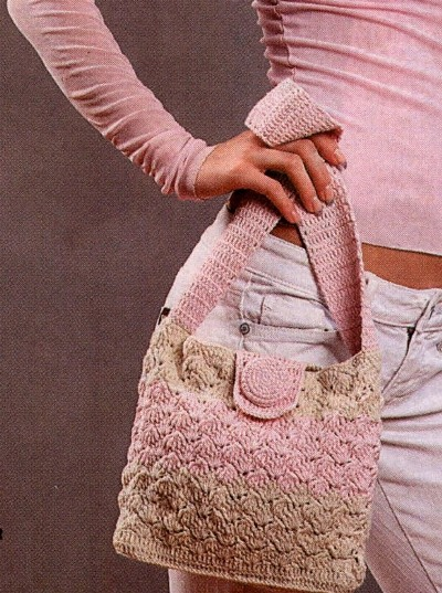 вязать сумки для девочек крючком. оригинальных сумочек для девочек.