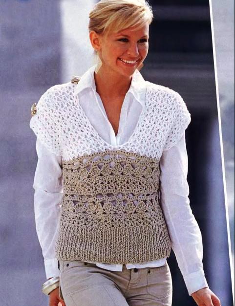 Вязание женских кофт, вязание спицами узоры схемы для летней кофточки.