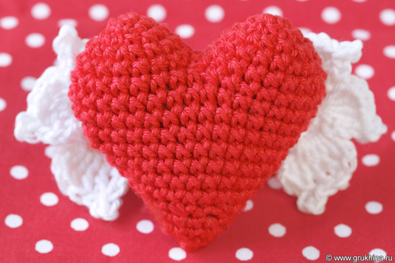 Схема с описанием сердечко