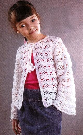 Вязание кофт для девушек.