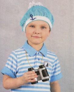 панамка для мальчика на лето