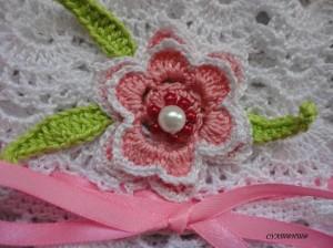 шляпка на лето цветок