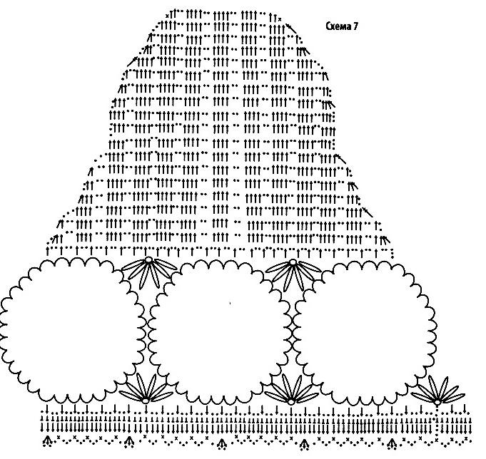 Вязания крючком схемы из ириса 31