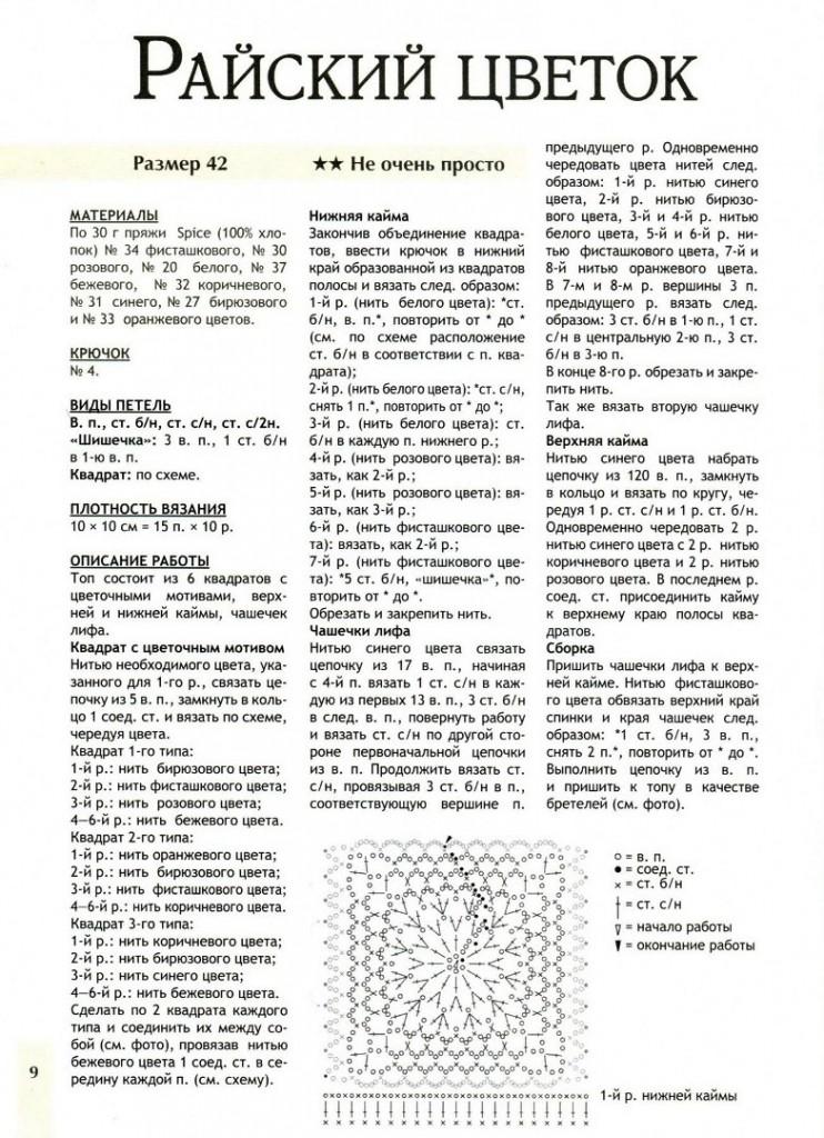 Вязание крючком лаптей схема 77