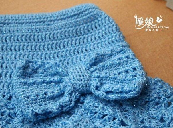 Схемы вязание юбки