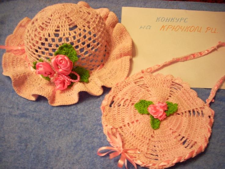 Урок вязания шляпки 25