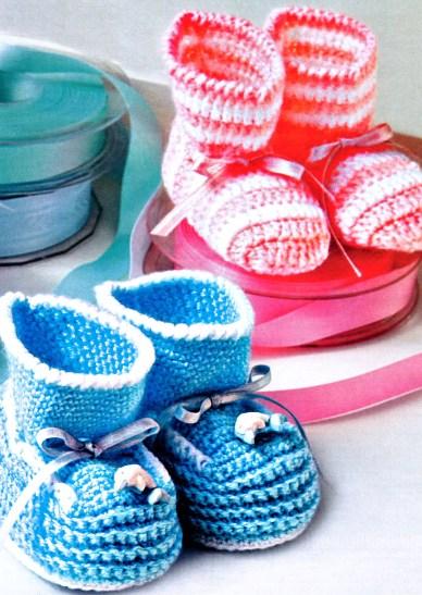 Продолжаем тему вязания для малышей