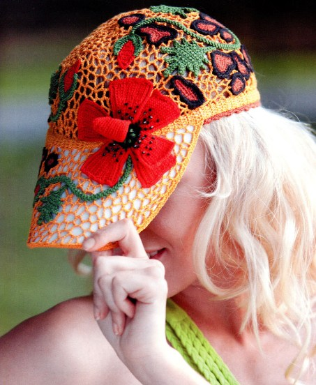 unique gifts for women: lace hat, free crochet patterns ...