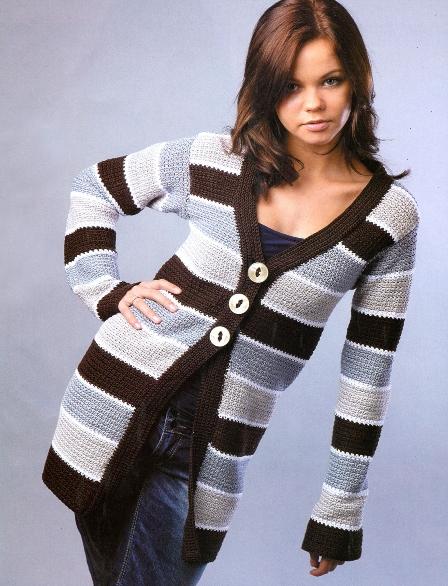 Вторник, 27 Марта 2012 г. 12:33.  Нравится Поделиться.  Вязание/Жакеты, кофточки.  Понравилось.