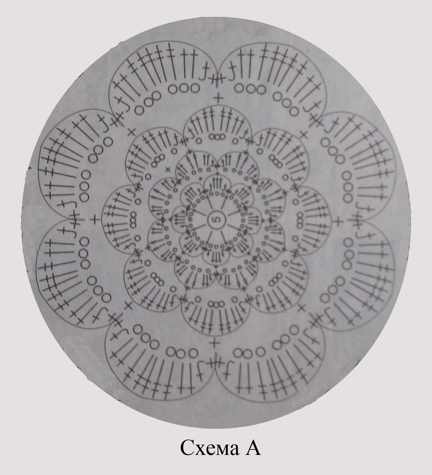Схема вязания цветков крючком фото 816