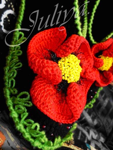 Как сделать цветочки для платья 948