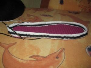 вязание стельки