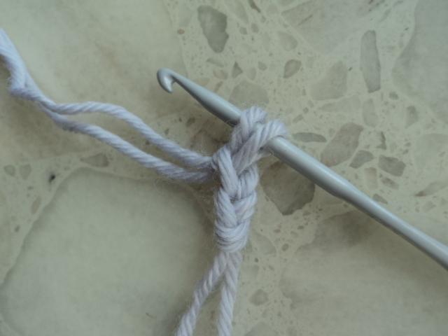 钩针基础:双面辫子针的钩法 (大师班) - maomao - 我随心动
