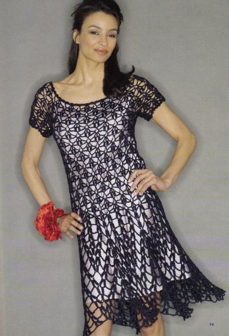 вязать летние платья может
