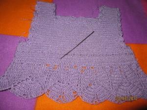 вязание топа