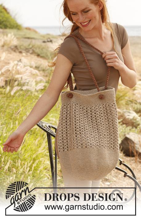 сумка-мешок крючком