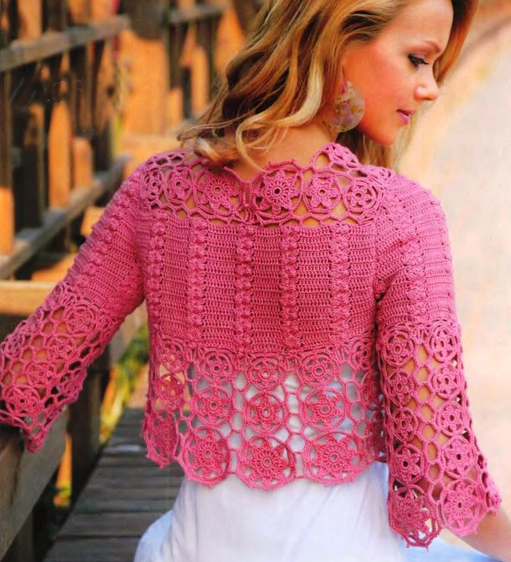 Pink Crochet.