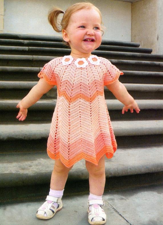Платье с цветами на 1-1,5 года