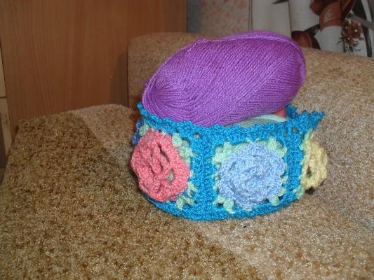 Вязанние шарфиков