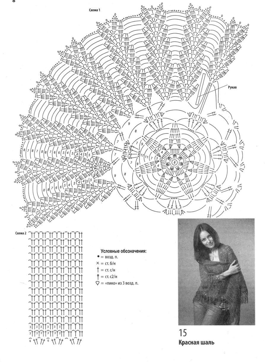 Схема Вязания Медвежонка