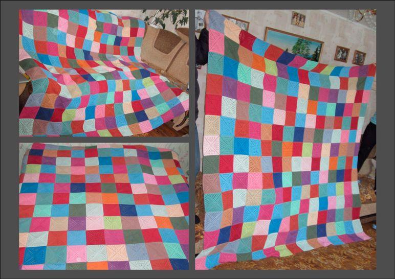 купить пряжу для вязания пледа без спиц