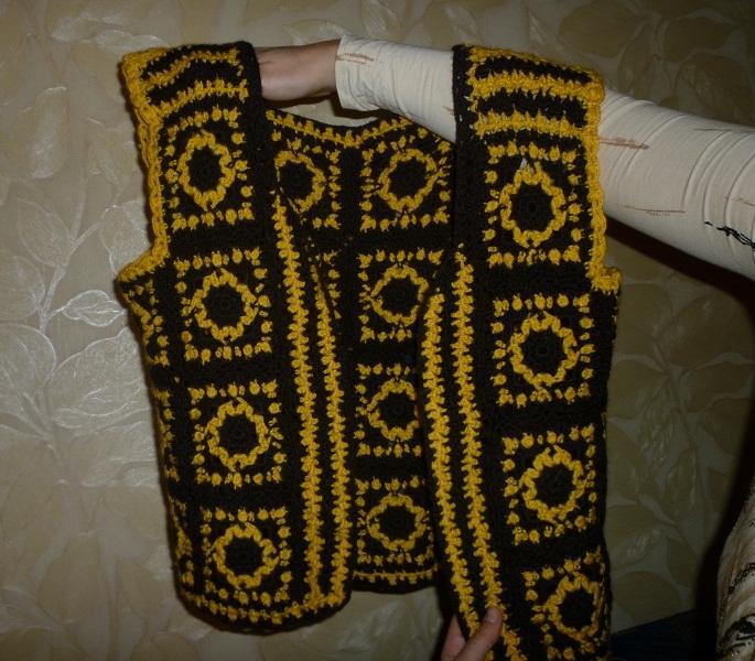 Для вязания потребовались: