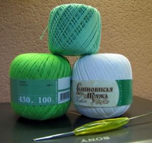 пряжа для вязания платья