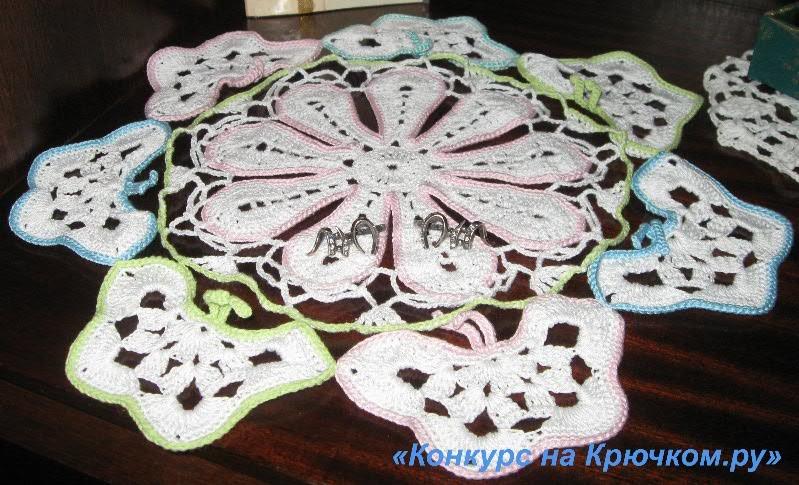Схемы для вязания из ириса