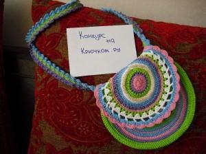 вязаная сумочка по мотивам Vendula Maderska
