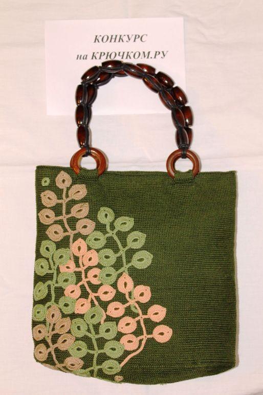Вязание сумок простые летние